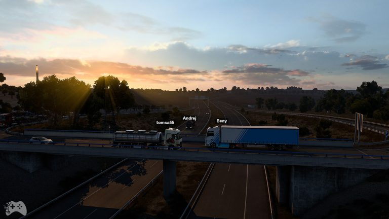 Oficjalny multiplayer do Euro Truck Simulator 2