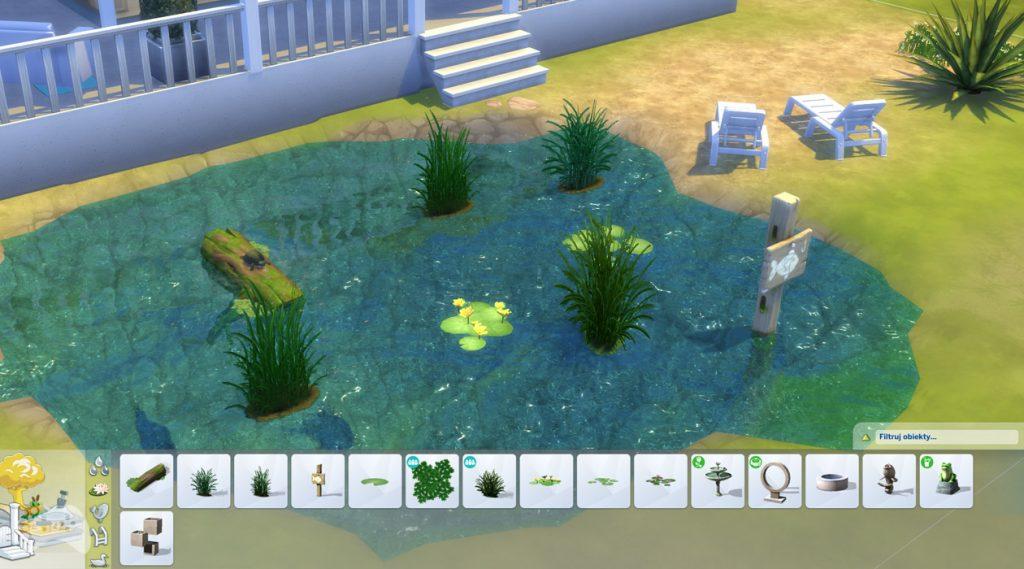 Stawy w The Sims 4 aktualizacja lipiec 2021