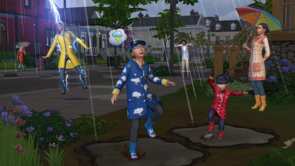 The Sims 4 Cztery pory roku kody