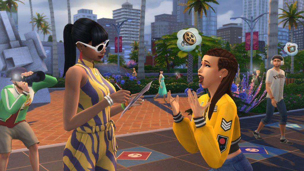 The Sims 4 Zostań Gwiazdą lista kodów