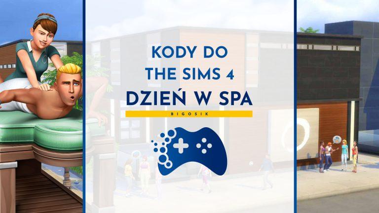Kody do The Sims 4 Dzień w Spa