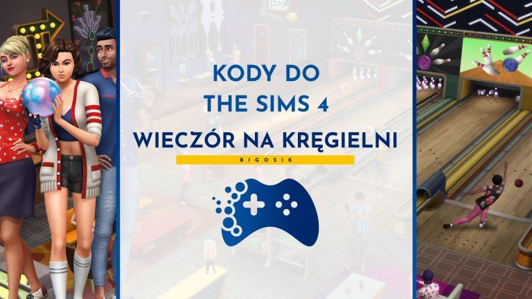 Kody do The Sims 4 Wieczór na kręgielni