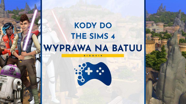 Kody do The Sims 4 Wyprawa na Batuu