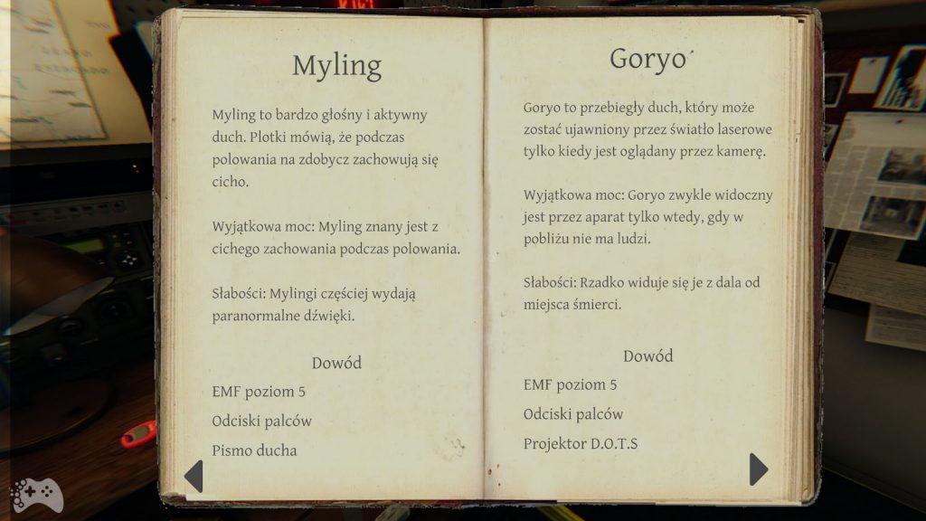 Phasmophobia duchy Myling Goryo