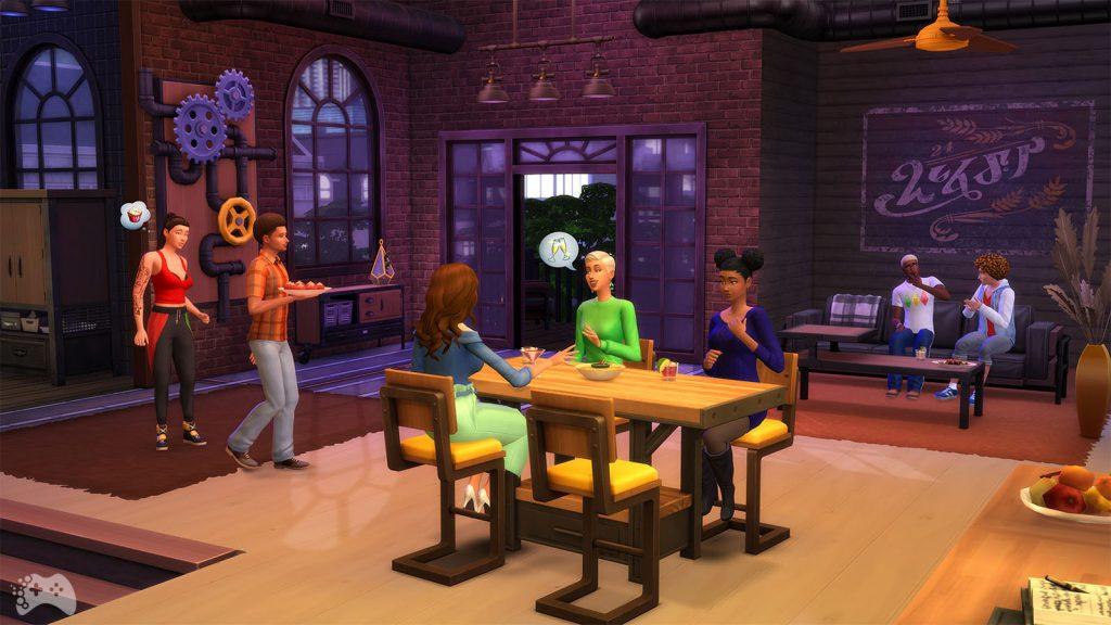 The Sims 4 Industrialny loft cena
