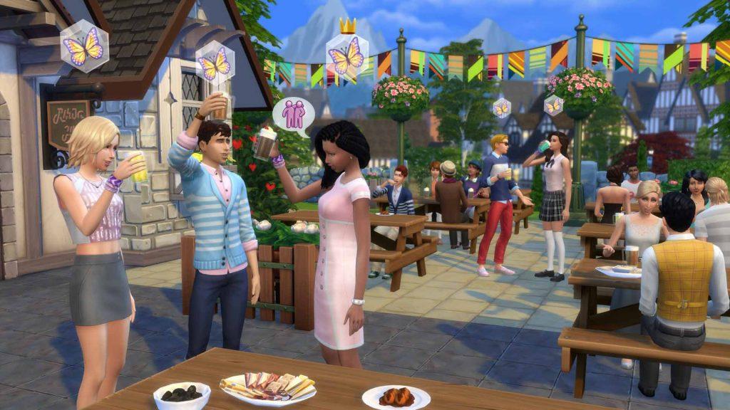 The Sims 4 Spotkajmy się kod na taniec