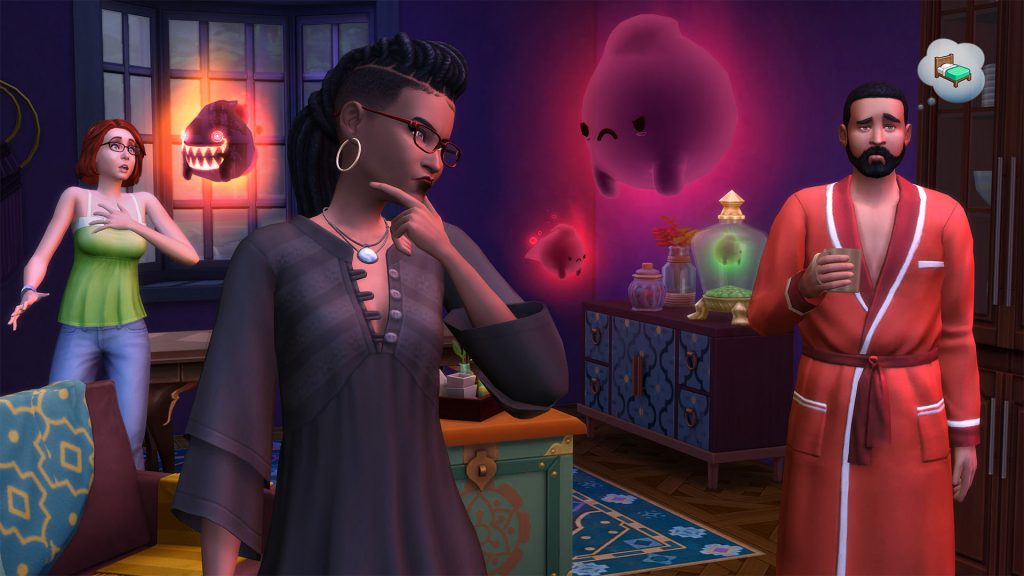The Sims 4 Zjawiska paranormalne kody