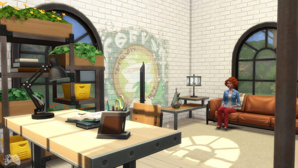 Tryb budowania The Sims 4 Industrialny loft