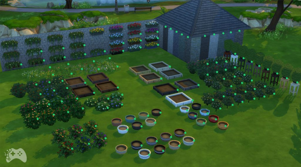 Dodatkowe kolory obiektów The Sims 4 aktualizacja