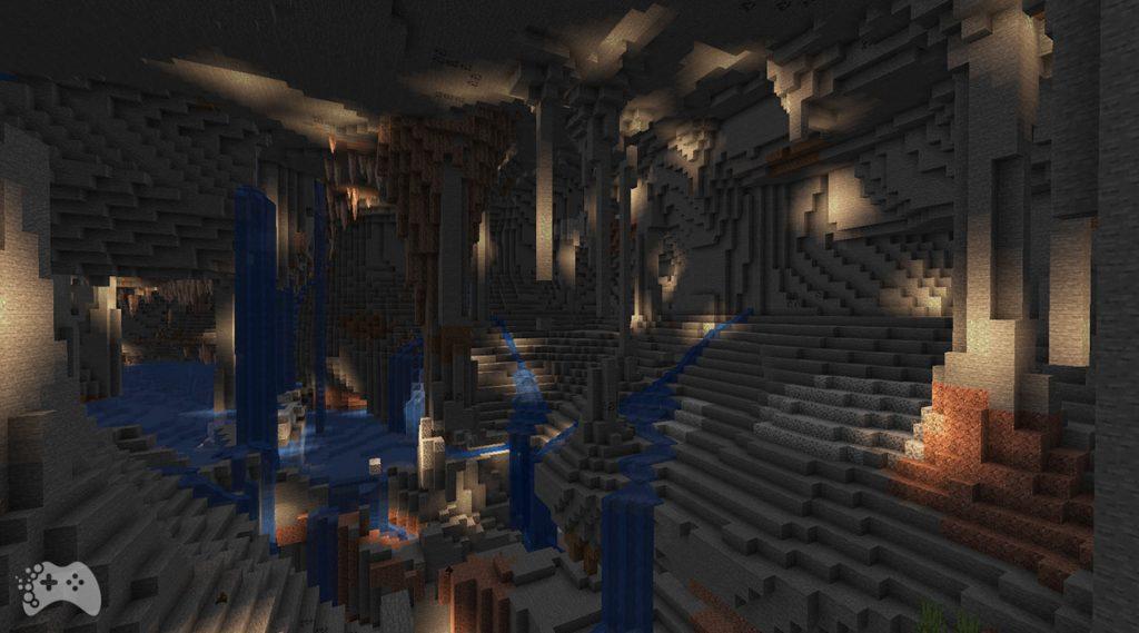 Minecraft Snapshot 21W37A nowy generator