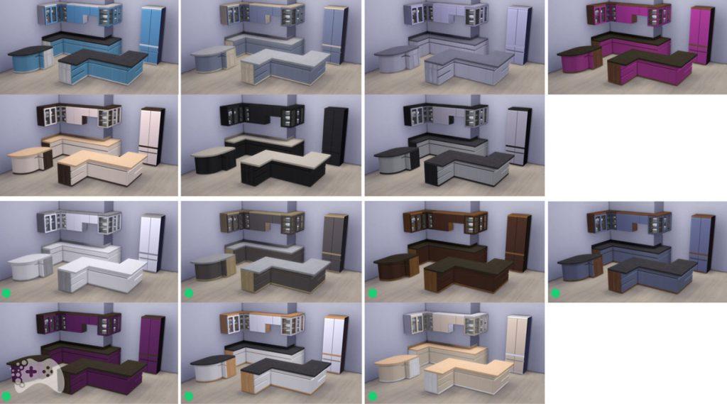 Nowe kolory mebli kuchennych The Sims 4