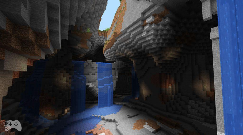Minecraft Snapshot 21W37A nowy generator jaskiń