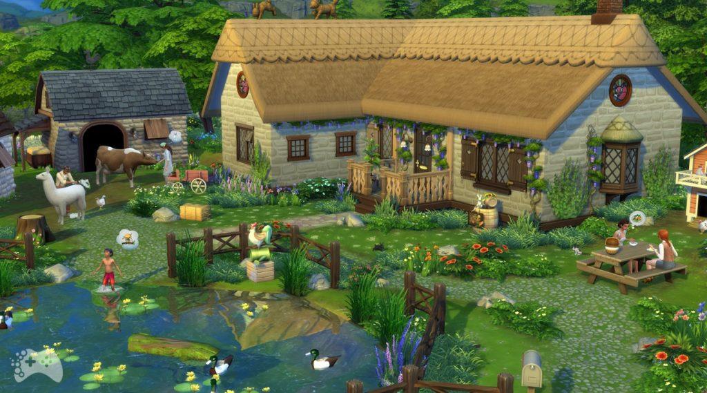 Promocja The Sims 4 wiejska sielanka
