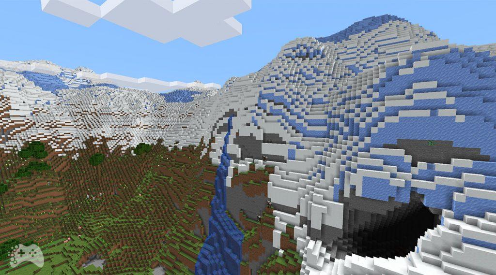Minecraft Snapshot 21W37A wysokie szczyty