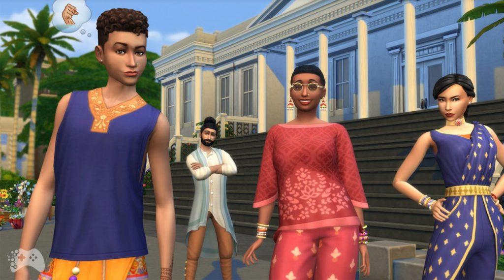 The Sims 4 Dzielnica mody kolekcja