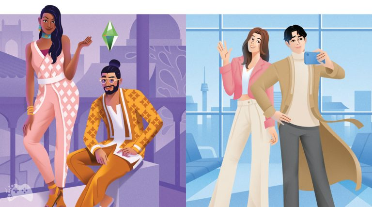 The Sims 4 Dzielnica mody i Lotniskowy szyk - informacje