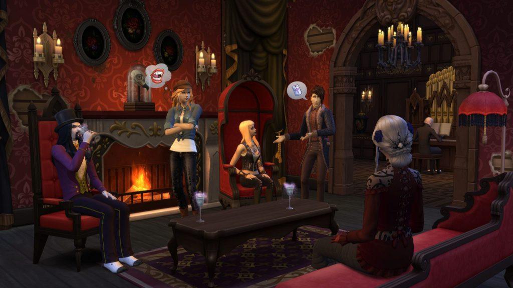 the sims 4 wampiry kody
