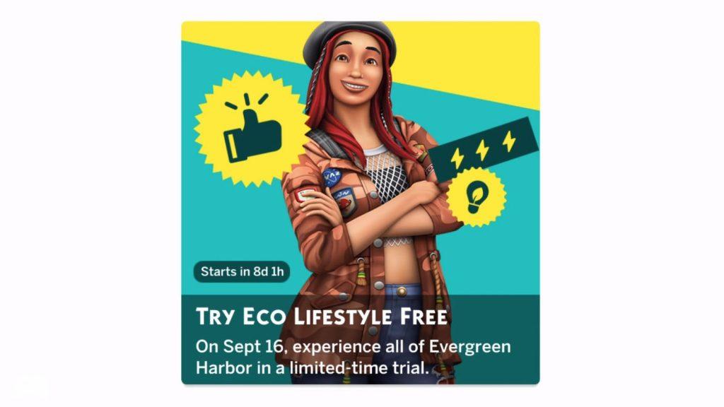 The Sims 4 Życie eko wersja próbna