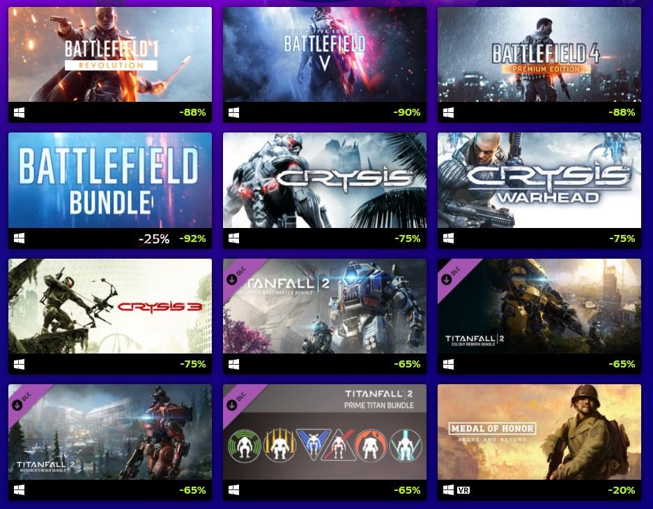 EA Shooter Sale 2021 - wyprzedaż gier