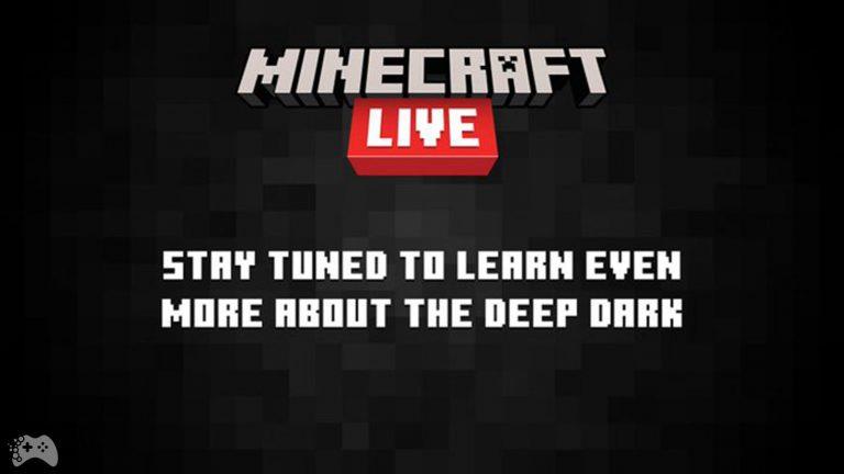 Minecraft Live 2021 Deep Dark